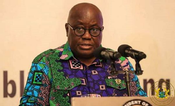 eat more knotomire, dawadawa to boost your immune ssystem - Akufo Addo to Ghanaians
