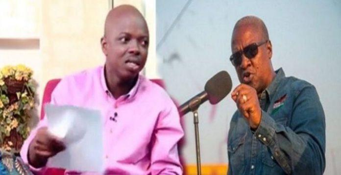 Mahama's Monthly Salary Contributing To Ghana's Rising Debt – Abronye DC