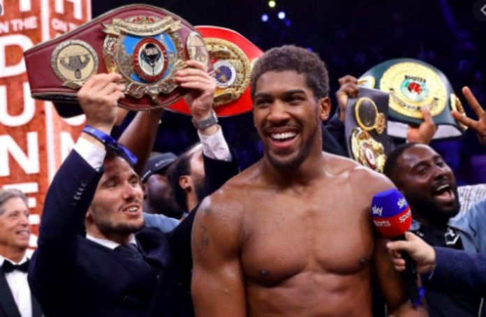 Anthony Joshua says he is still single