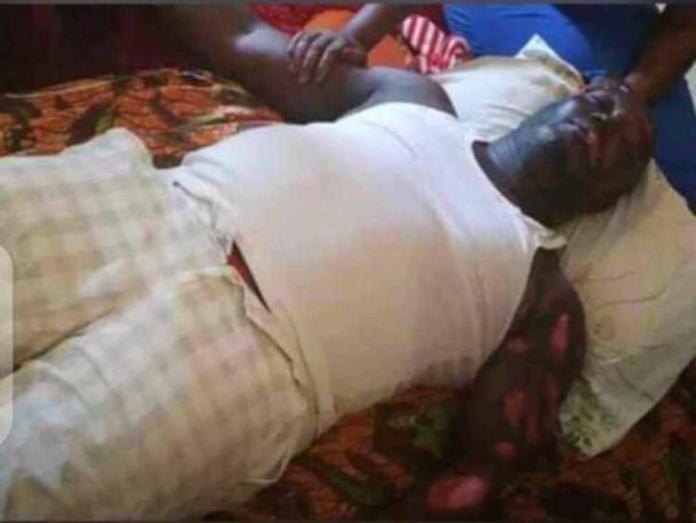Lifeless Body of Actor Bishop Bernard Nyarko