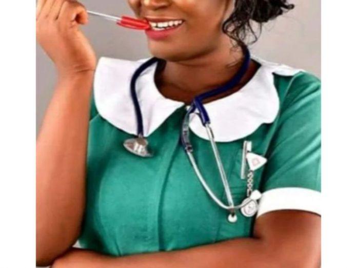 Ghanaian nurse