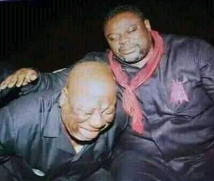 Koku Anyidoho and Allotey Jacobs