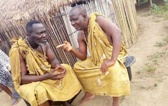 Kumawood actor Ogyam threatens to kill mother of late Bishop Bernard Nyarko