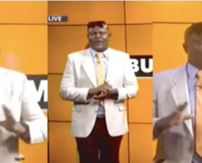 Bukum Banku turns news anchor