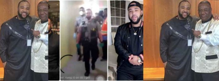 Duncan Williams son arrested
