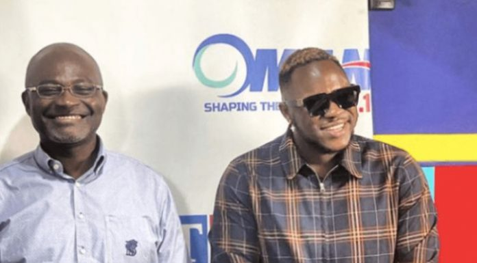 Kennedy Agyapong and Medikal drop a song