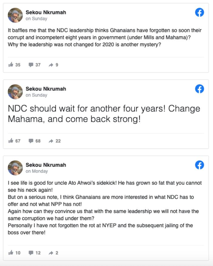 NDC to change Mahama