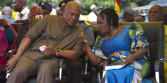 Mahama and Jane