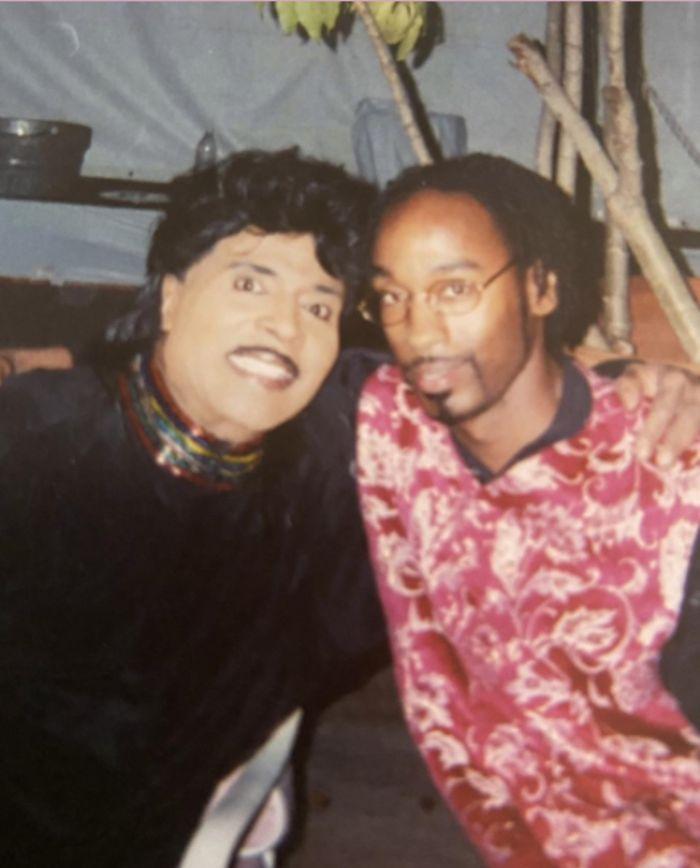 Little Richard with D'Mar