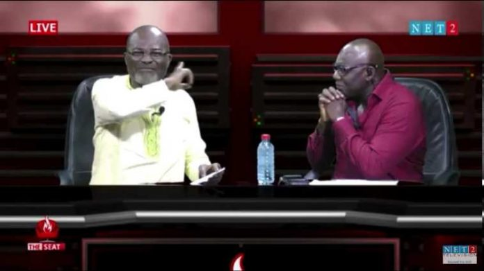 Kennedy Agyapong goes wild on Net2 TV