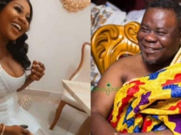 Dr Kwaku Oteng and a lady