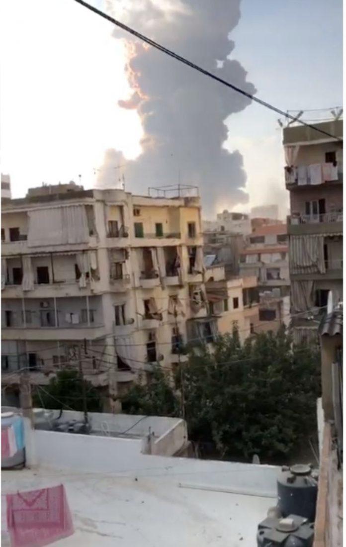 Lebanon is on fire