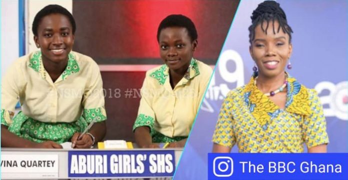 Aburi Girls withdraws from National Science and Math Quiz