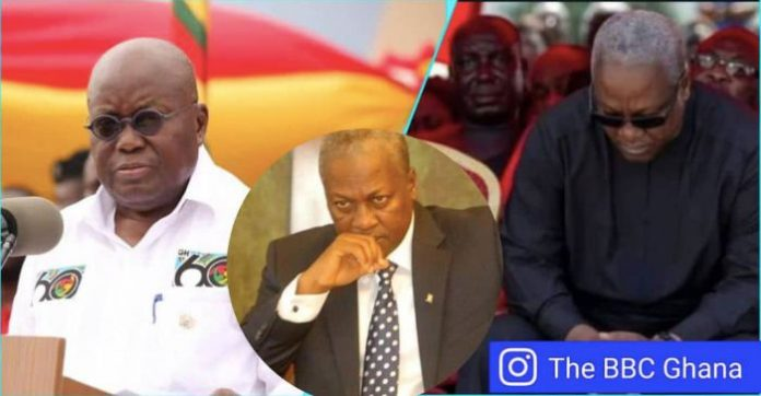 Akufo-Addo Refuses To Debate Mahama; Says He Has 'Pre-arranged Commitments'