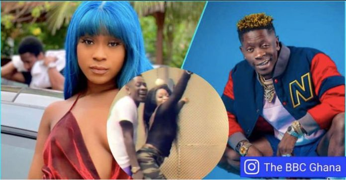 Shatta Wale is 'eating' Efia Odo without giving her anything