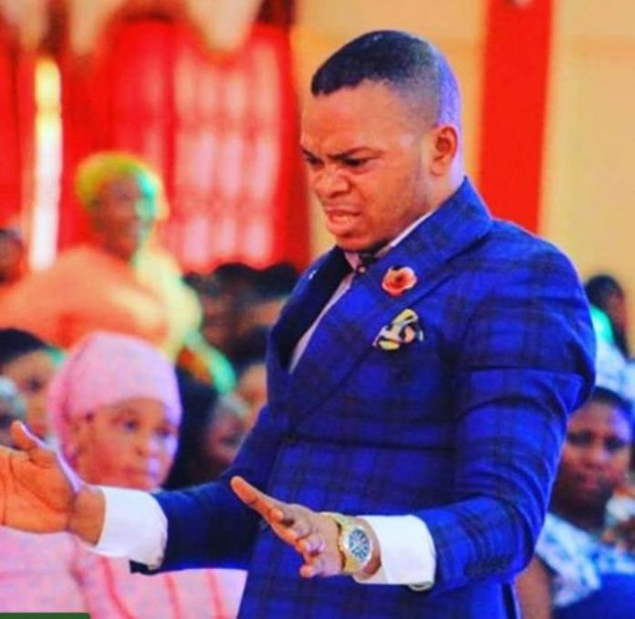Angel Obinim sleeps with a woman at his church