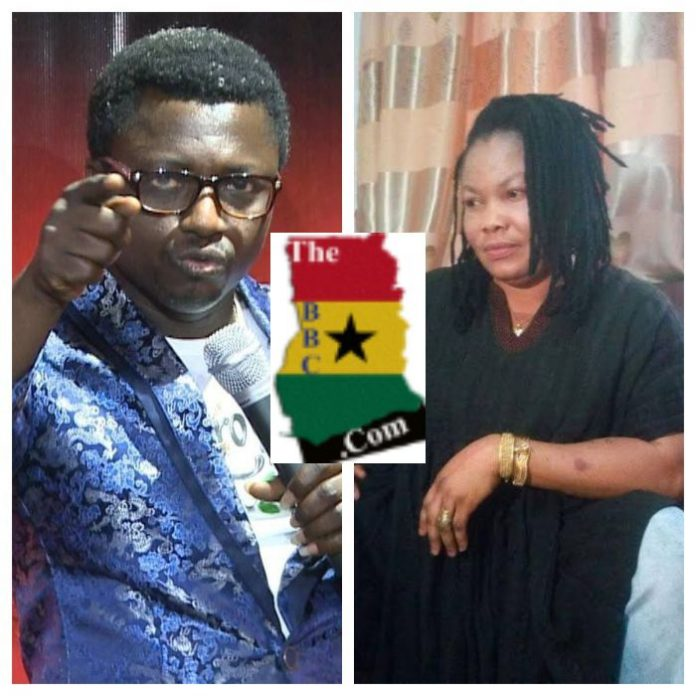 Prophet Opambour and Nana Agradaa