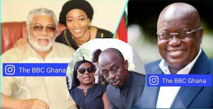 Akufo Addo plotting to hijack Rawlings funeral