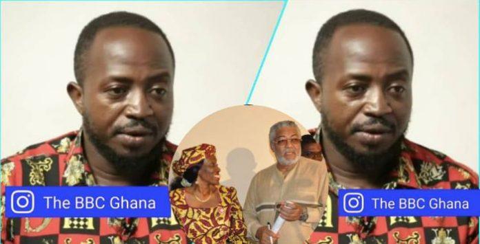 Nana Konadu maltreated Rawlings