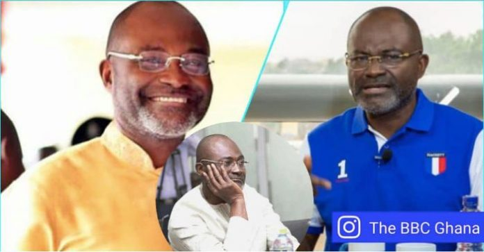 Kennedy Agyapong run away from his house
