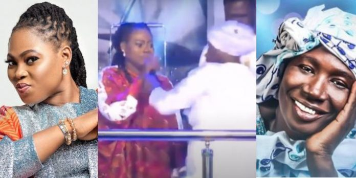 Cecilia Marfo grabs mic from Joyce Blessing