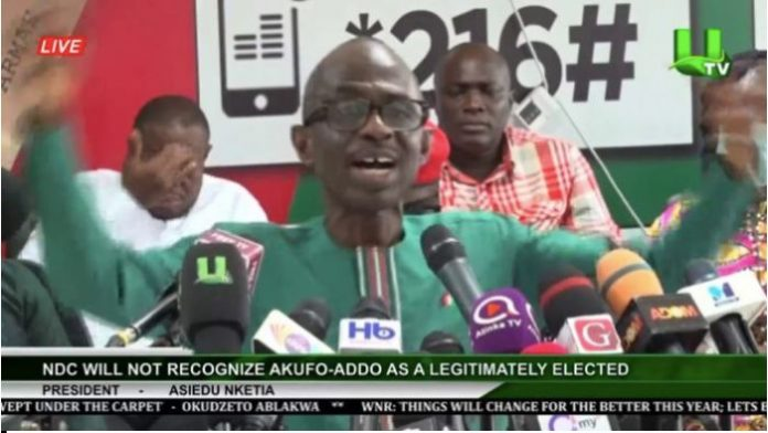 Haruna Iddrisu And Muntaka As Leaders In Parliament Are Not Helping NDC – Asiedu Nketiah