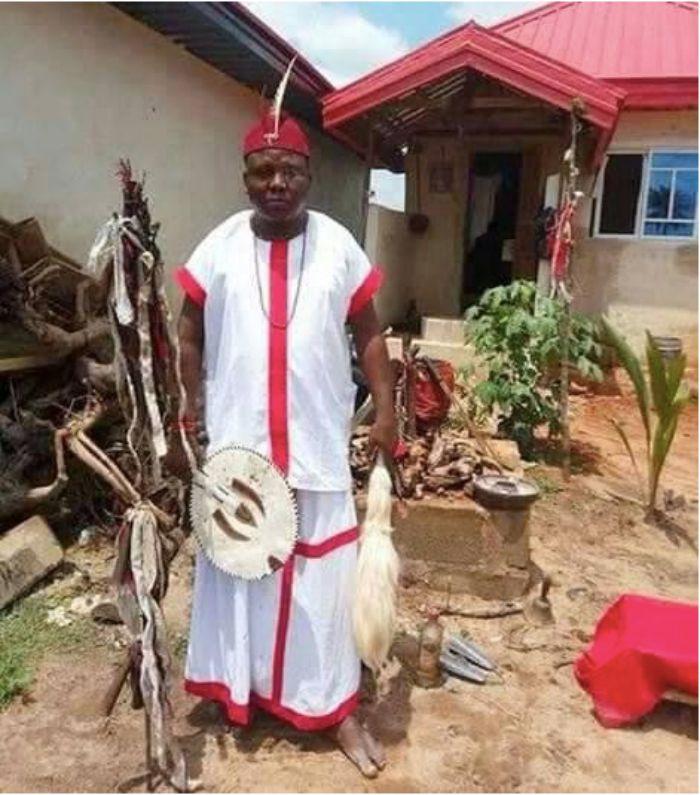 Fetish Priest Impregnates Pastor's Wife