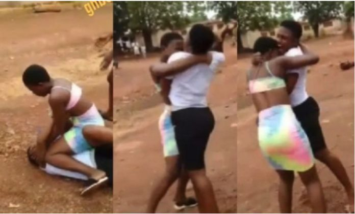 JHS Students Fight Over A Guy Because Of iPhone