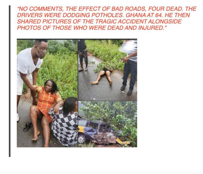 Prophet Nigel Gaisie Involved In Accident,