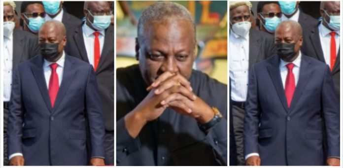 President Akufo-Addo says Ghana's economy under former President John Dramani Mahama was an unmitigated disaster.