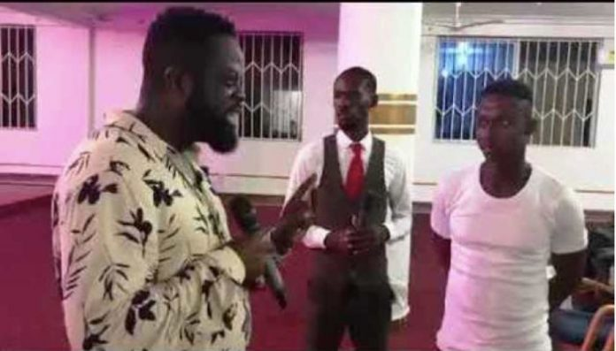 Ofori Amponsah preaching