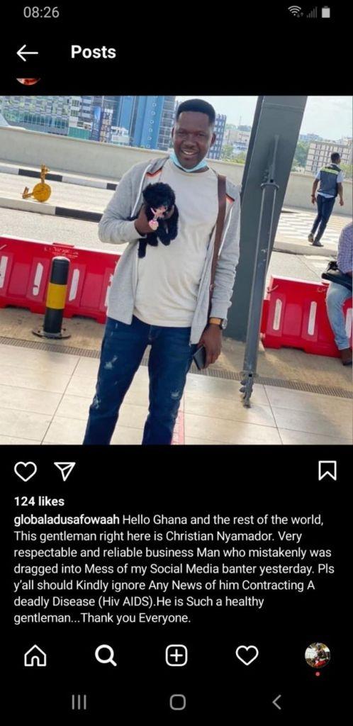Adu Safowaa apologises