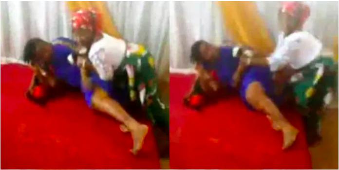 Pastor wife fighting