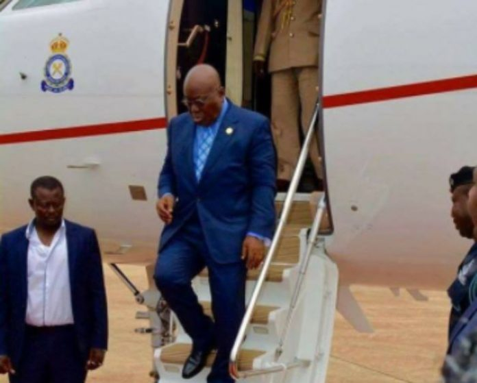 President Nana Addo Tours Upper East Region Today
