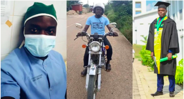 Nurse turns Okada rider