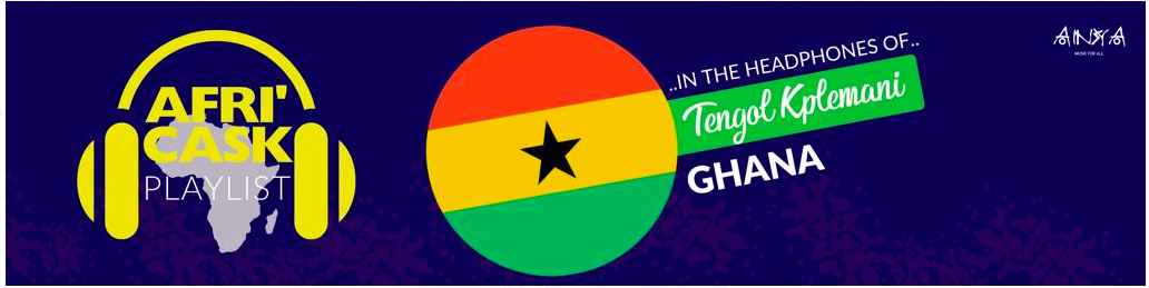 Tengol submits 16 songs by Ghanaian artists as playlist for Moroccan's Afri'Cask channel