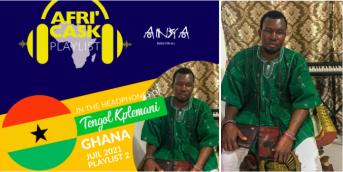 The Taste of Afrika CEO, Tengol submits 16 songs by Ghanaian artists as playlist for Moroccan's Afri'Cask channel