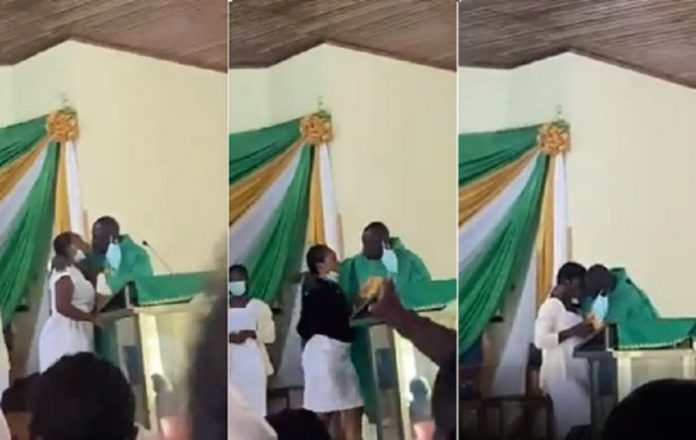 I Didn't Think... – Anglican Priest Spotted In Video Kissing Students Finally Apologises