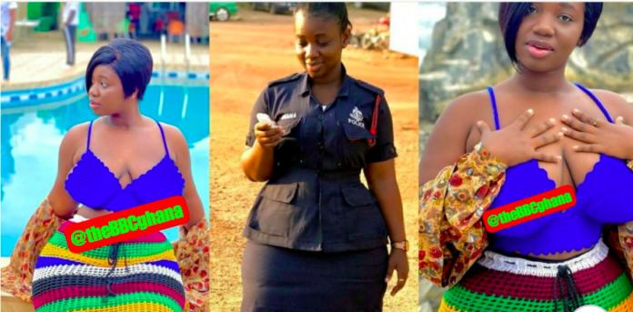 Policewoman Ama Serwaa Dufie