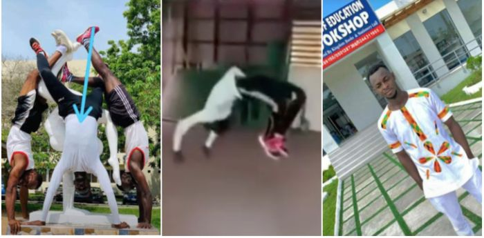 Watch The Video Of The Late UEW Final Year Student That Ended His Life