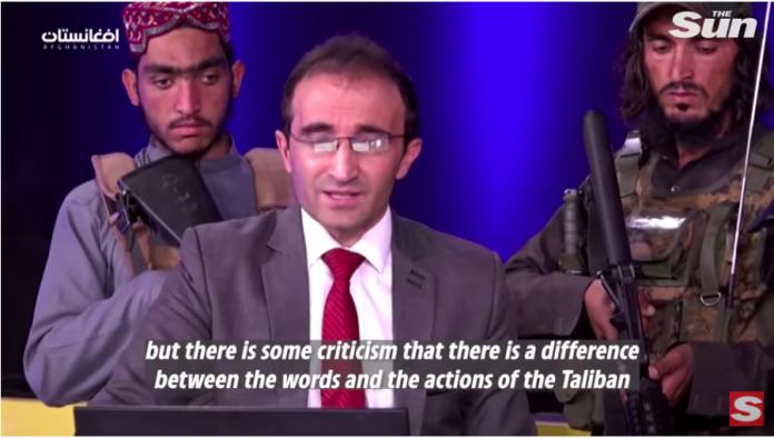 Taliban storm Afghan Tv