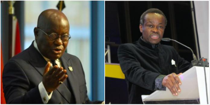 Prof Lumumba and Akufo Addo