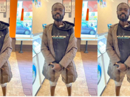 Ghanaian man who is homeless in New York City