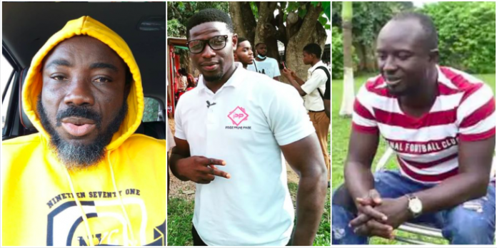 Big Akwes exposes YouTuber Quoo Fante for giving 50ghc to actor Ogyam to insult and expose others