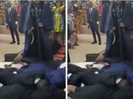 Pastor Lashes Church Members